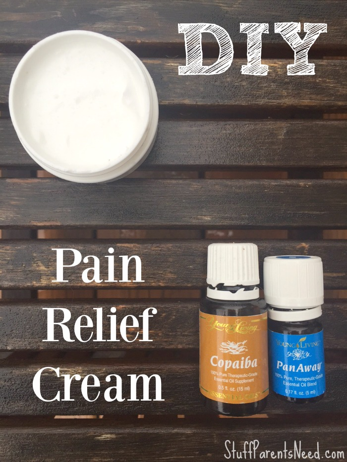 DIY pain relief cream