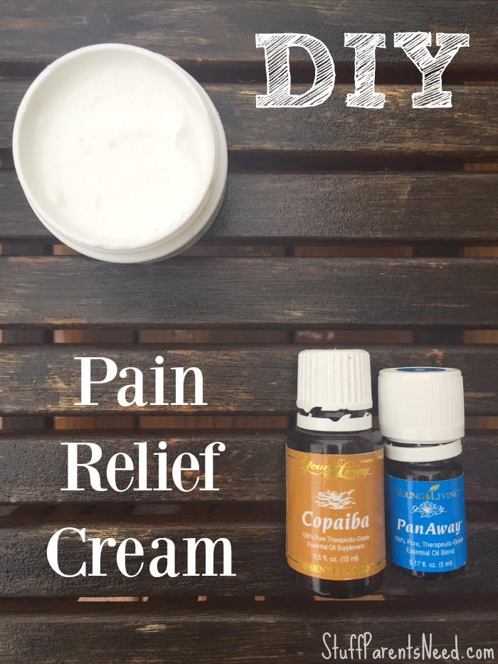 DIY pain relief cream