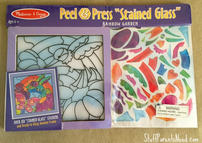 stained glass stickers 1