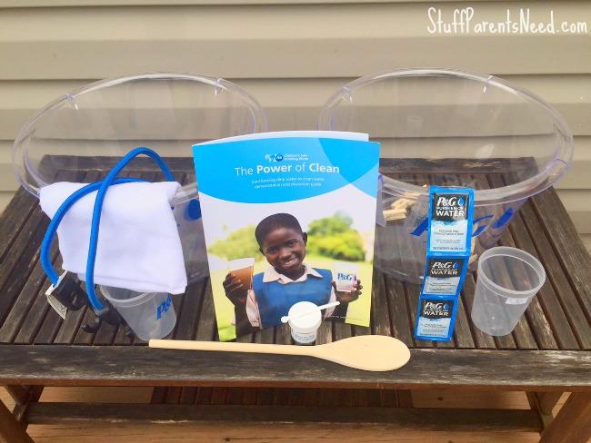 P&G clean water kit 1