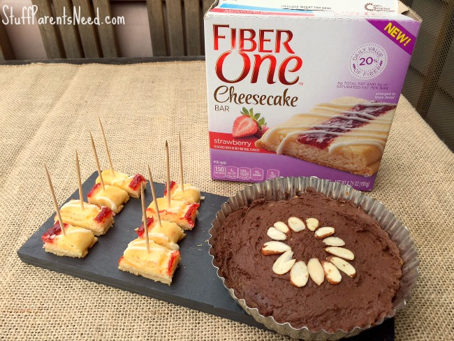fiber one cheesecake fondue 3