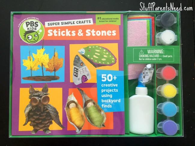 PBS kids super simple crafts sticks & stones