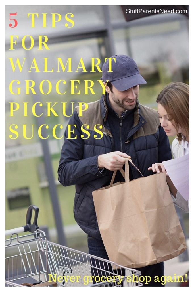 5 TipsFor WalmartGrocery Pickup