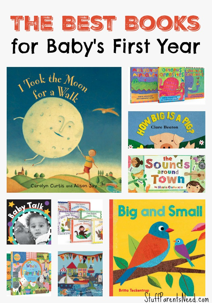 10 baby book gift ideas