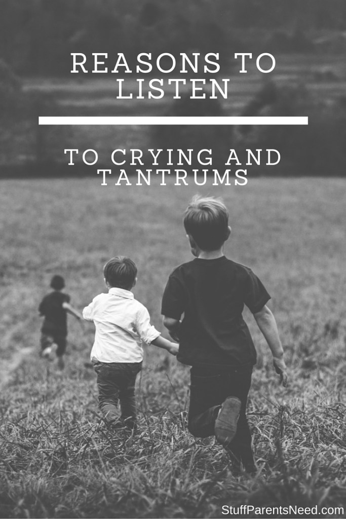 Reasons to Listen When Your Child Throws a Tantrum