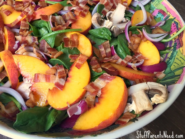 peach-and-bacon-spinach-salad