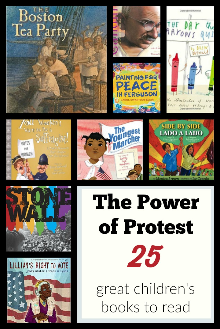 children's books about protests and marches