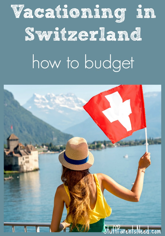 vacation in switzerland: expenses