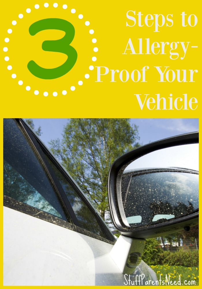 how to keep pollen out of your vehicle