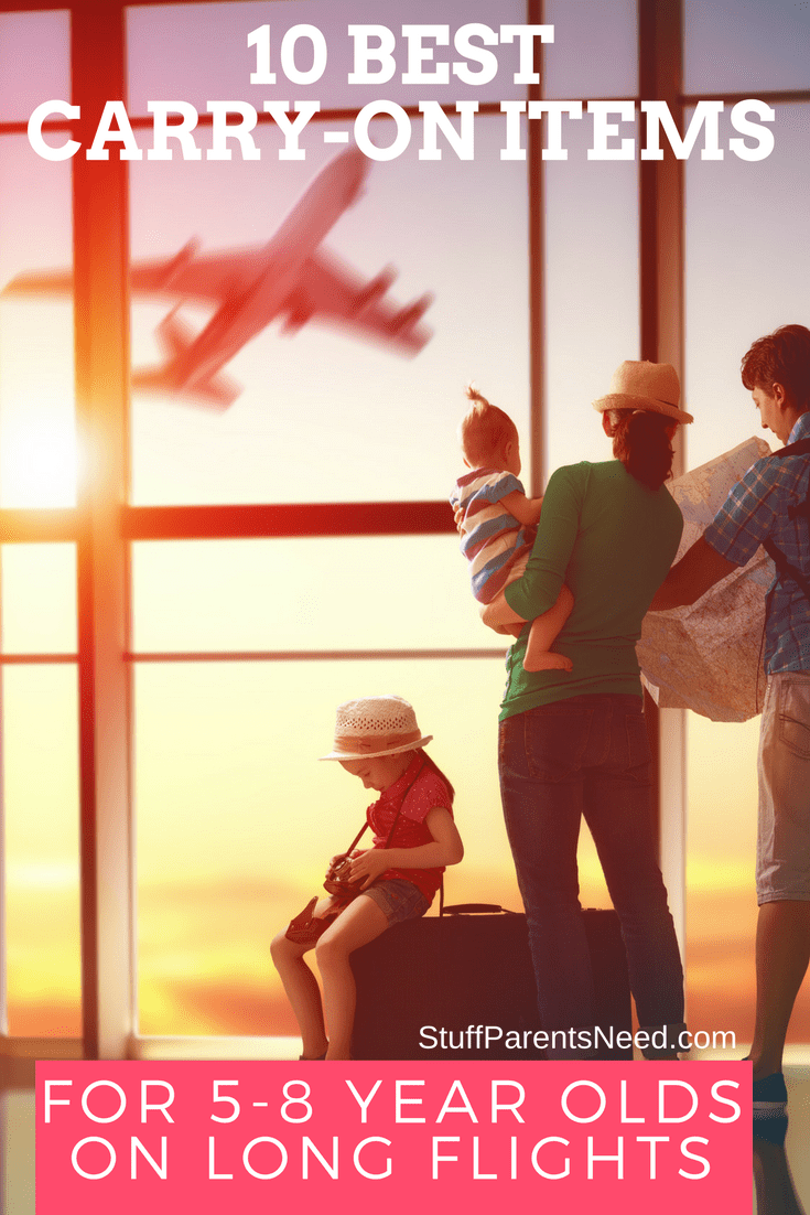 best carry on items for long flights