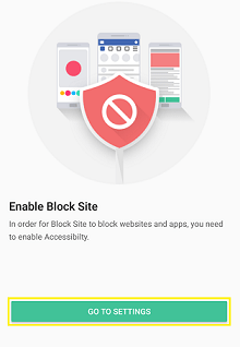 block site android application