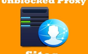 unblocked proxy sites