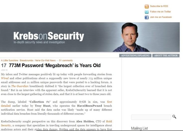 krebs on security blog