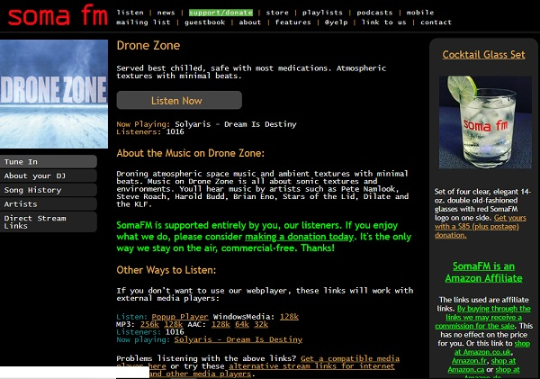 soma fm radio online