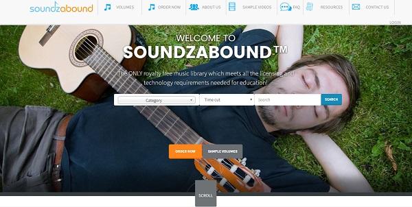 soundzabound website songs