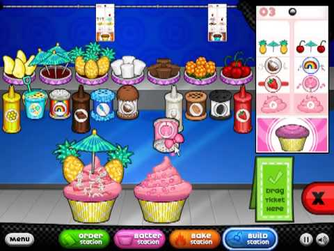papas cupcakeria game online