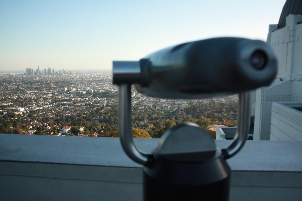 View of LA