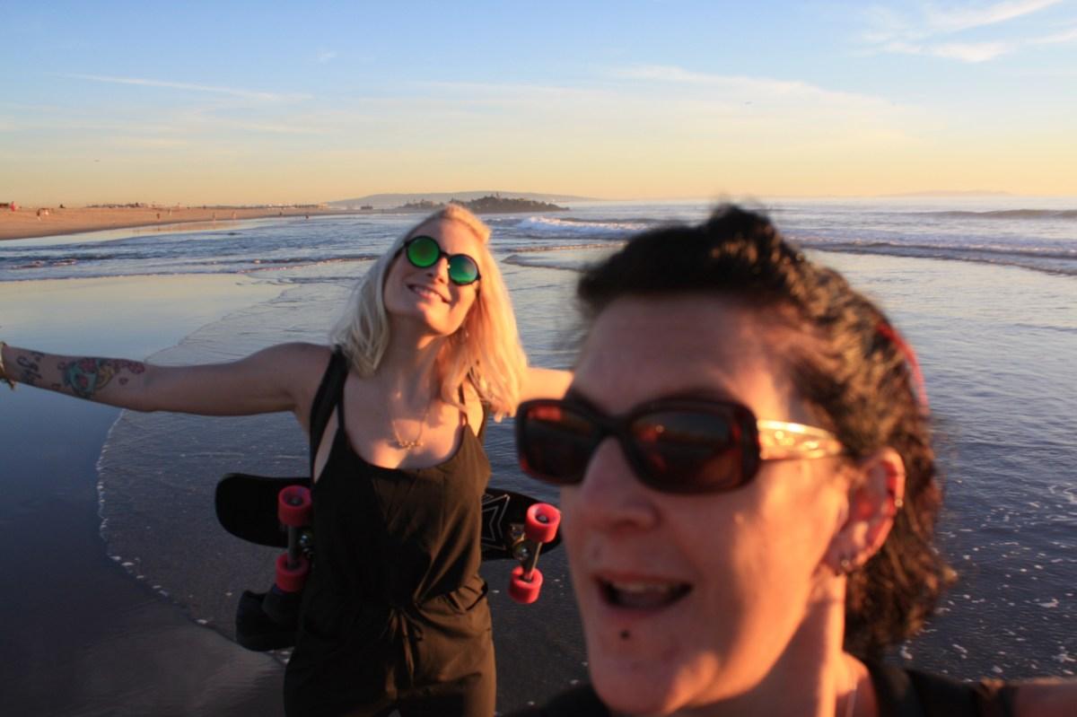 Venice Beach selfie
