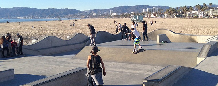 NY IN LA 2015 – DAY 11: Venice Beach Skatepark!