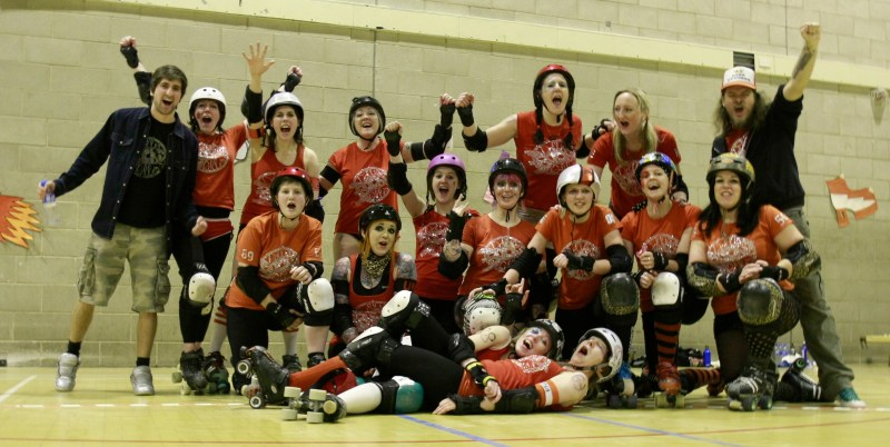 The Dolly Rockit Rollers Travel Team