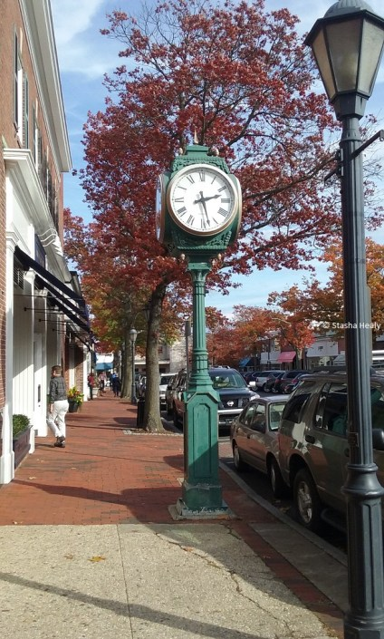 Downtown New Canaan, CT