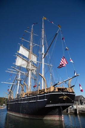 Charles W. Morgan. Photo credit: Mystic Seaport