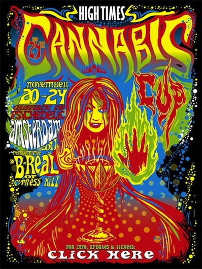High Times 24th Annual Cannabis Cup in Amsterdam