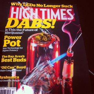 High Times Dabbing WEED