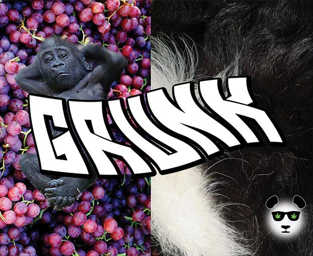 grunk marijuana strain logo