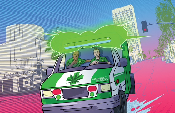 medical marijuana delivery