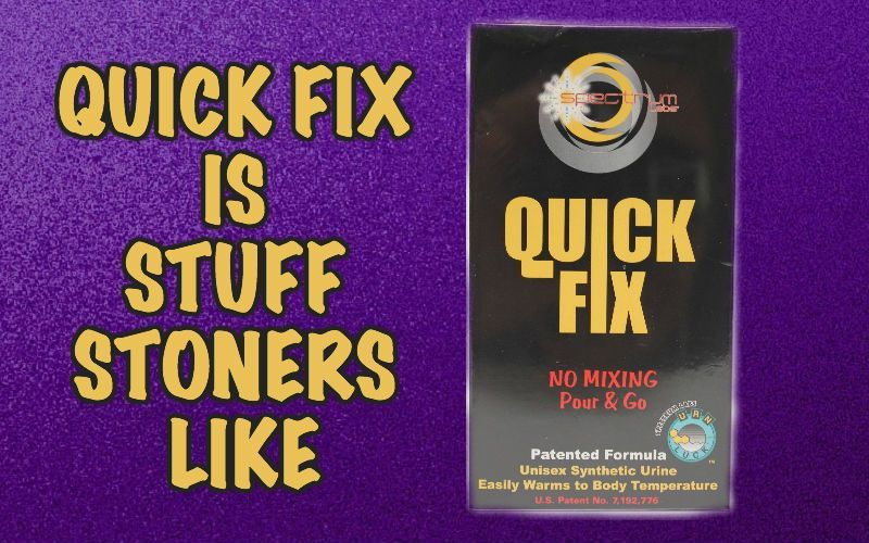 Quick Fix synthetic urine is one of the best fake pee brands