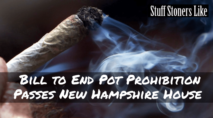 Bill to End Pot Prohibition Passes New Hampshire House