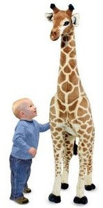 Melissa & Doug Giraffe Plush 5 Feet