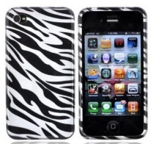 Zebra Stripe iPhone 4 Case