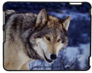 Wolf ipad case made by speck