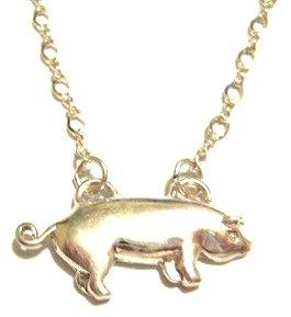 pig necklace