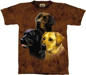 Dog Labrador collage t-shirt