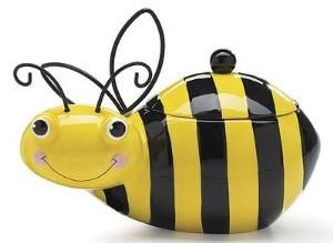 Bumble Bee Cookie Jar