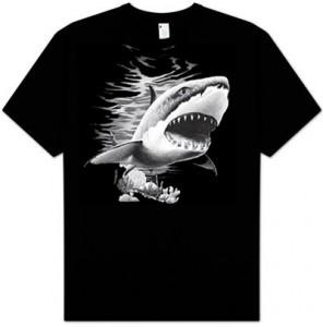 Great White Shark T-Shirt Shark Week