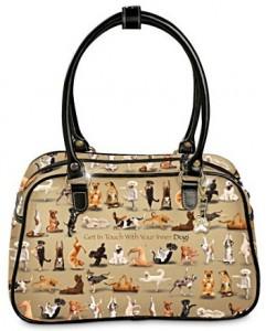 Yoga Dogs Handbag