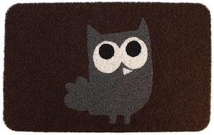 Cute owl doormat