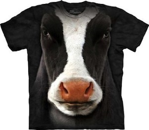 The Mountain cow face t-shirt