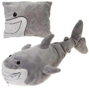 Shark Plush and Pillow in one