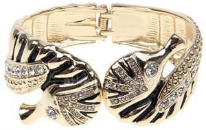 Sea Horse Rhinestone Bracelet