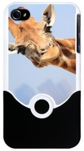 Curious Giraffe iPhone 4 4S Slider Case