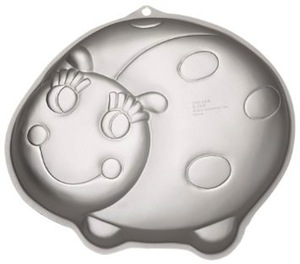 Lady bug wilton cake pan