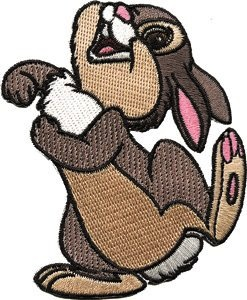Rabbit clothing patch