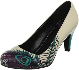 Peacock Feather Pumps