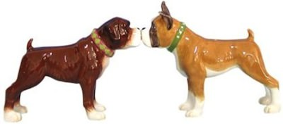 Boxer Salt And Pepper Shaker Set