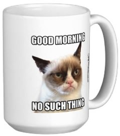 Grumpy Cat Good Morning Mug